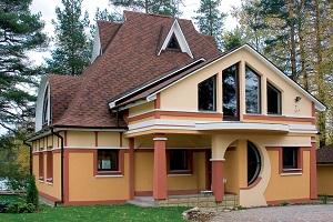 Строительство загородных коттеджей